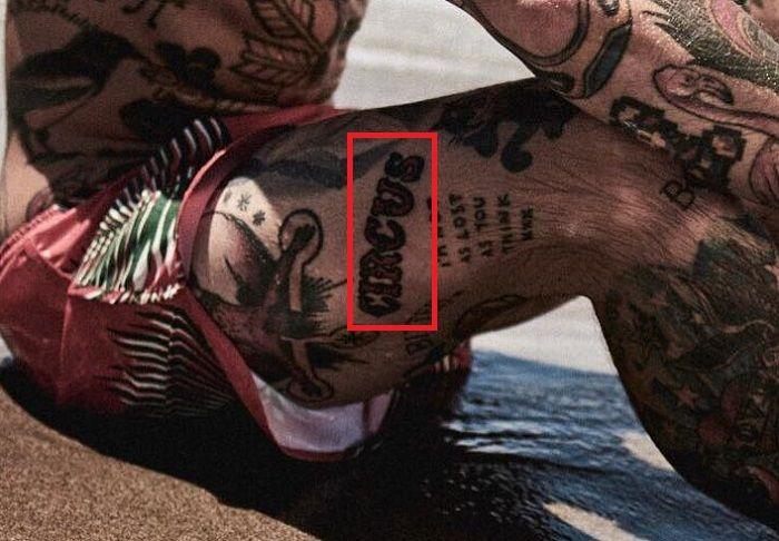 Ricki Hall-CIRCUS-Tattoo