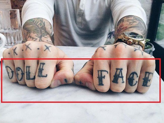 Ricki Hall-DOLL FACE-Tattoo