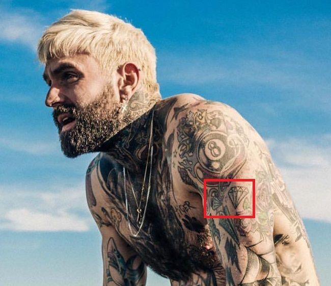 Ricki Hall-Diamond-Tattoo