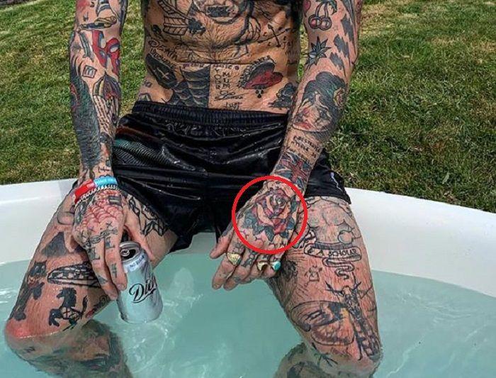 Ricki Hall-Rose-Tattoo