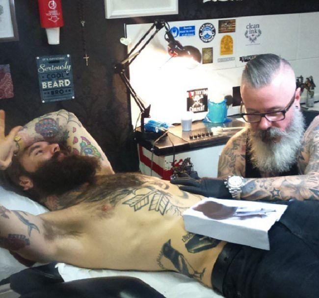 Ricki Hall-Tattoo-Arron Raw