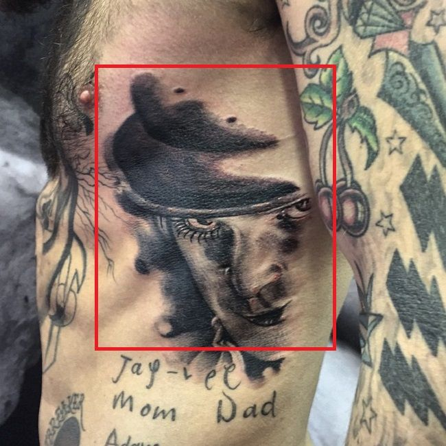 Ricki Hall-Tattoo-Ribcage