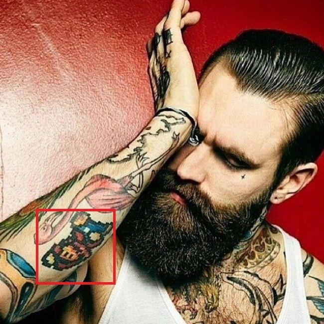 Ricki hall-Mario-Tattoo