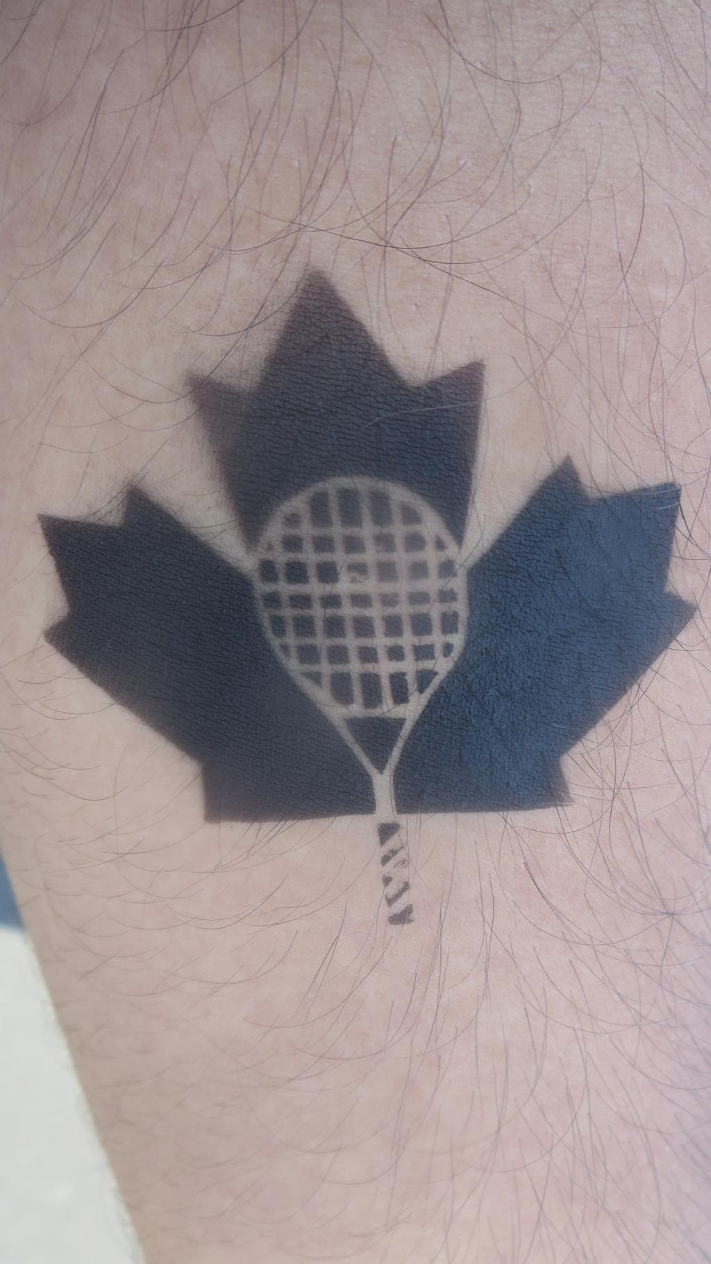 Tennis Tattoo