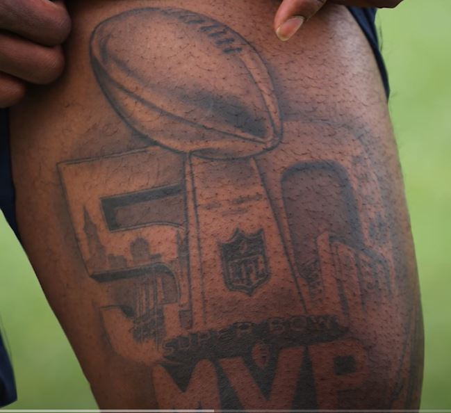 Von 50 MVP Tattoo