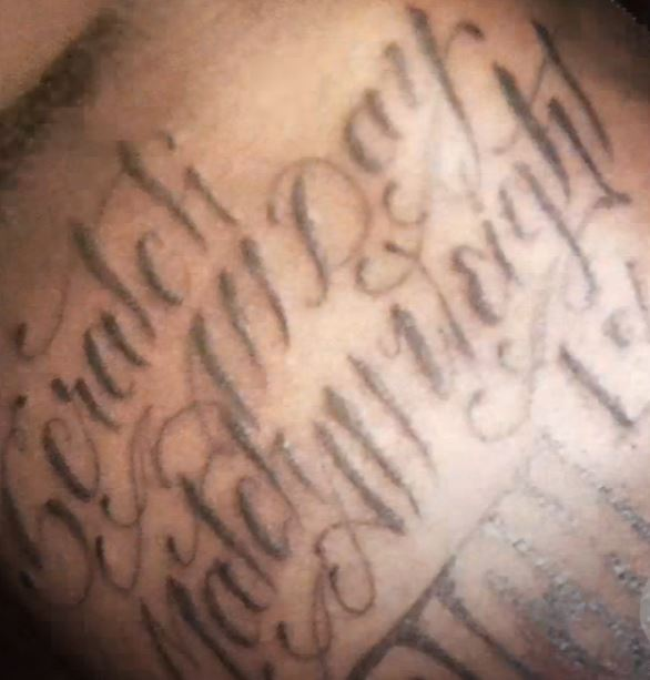 Von Scracth all day match all weight Tattoo