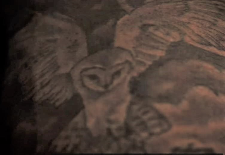 Von owl tattoo