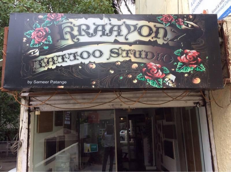 Kraayonz tattoo studio