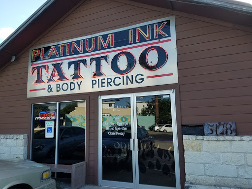 Platinum Ink Tattoos, Texas