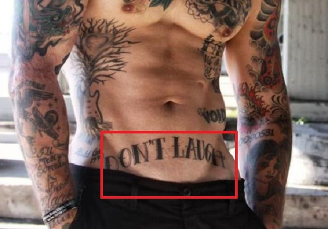 Alex Minsky-DONT LAUGH-tattoo
