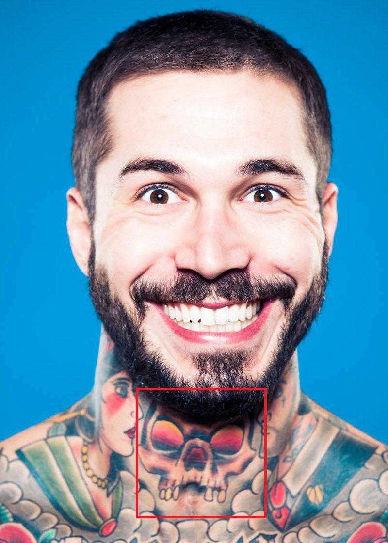 Alex Minsky-Skull-Tattoo