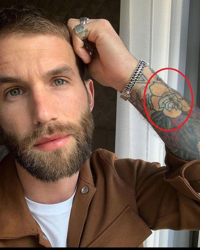 Andre Haman-Yellow Rose-Tattoo
