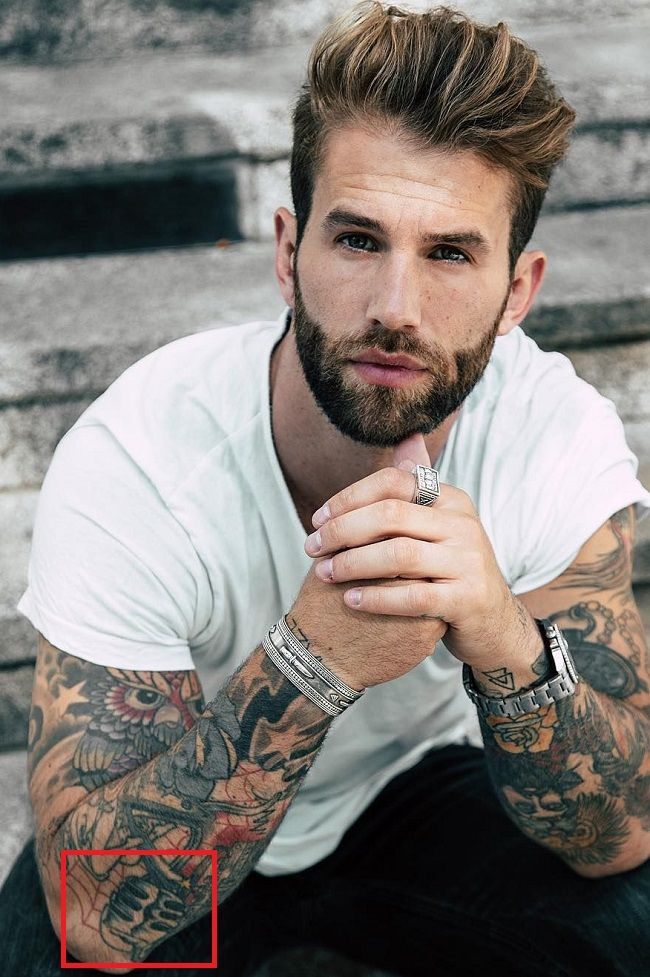 Andre Hamann-Microphone-Tattoo