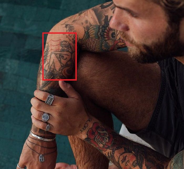 Andre Hamann-Naked Woman-Tattoo
