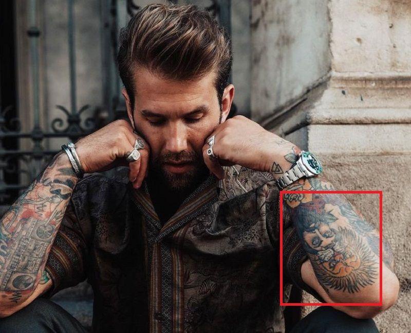Andre Hamann-Tattoo-Arm