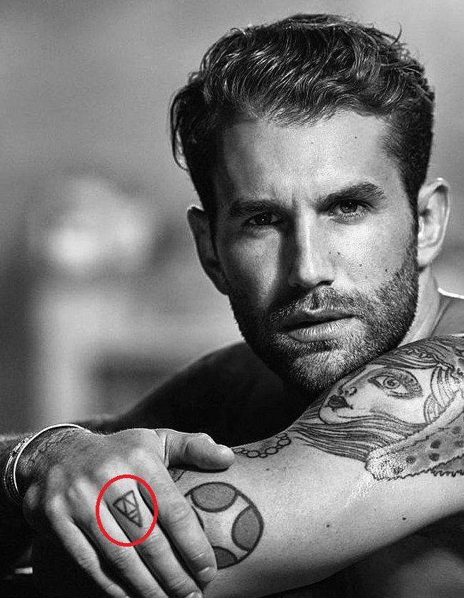 Andre Hamann-Tattoo-Finger