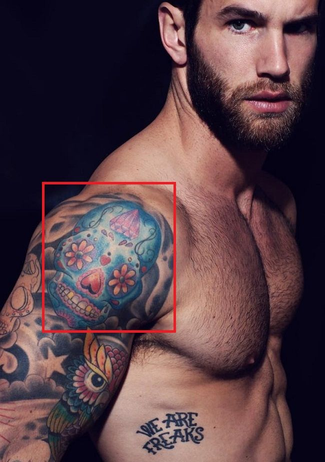 Andre Hamann-Tattoo-Shoulder-Right