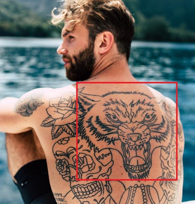 Andre Hamann-Tiger-Tattoo