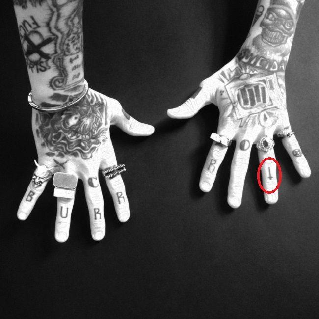 Bradley Soileau-Cross of Saint Peter-Tattoo