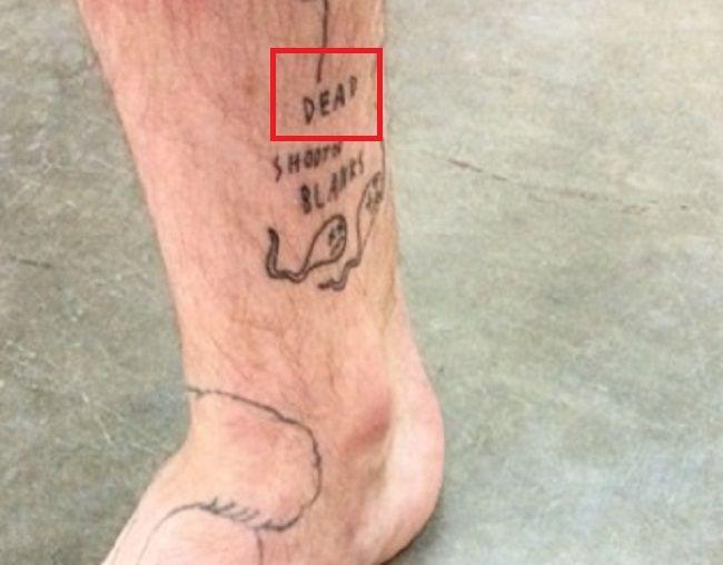 Bradley Soileau-DEAD-Tattoo