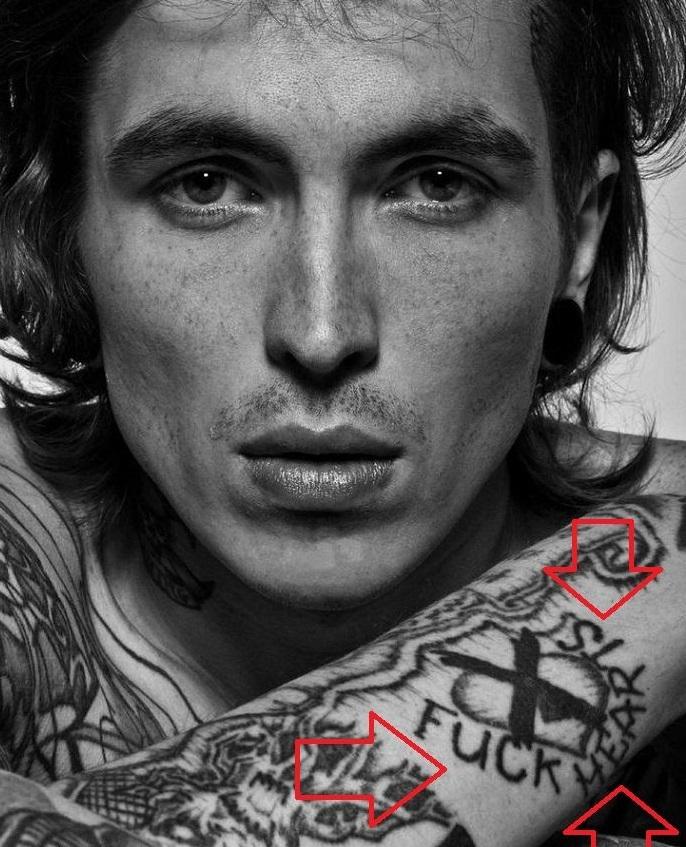Bradley Soileau-FUCK HEARTS-Tattoo