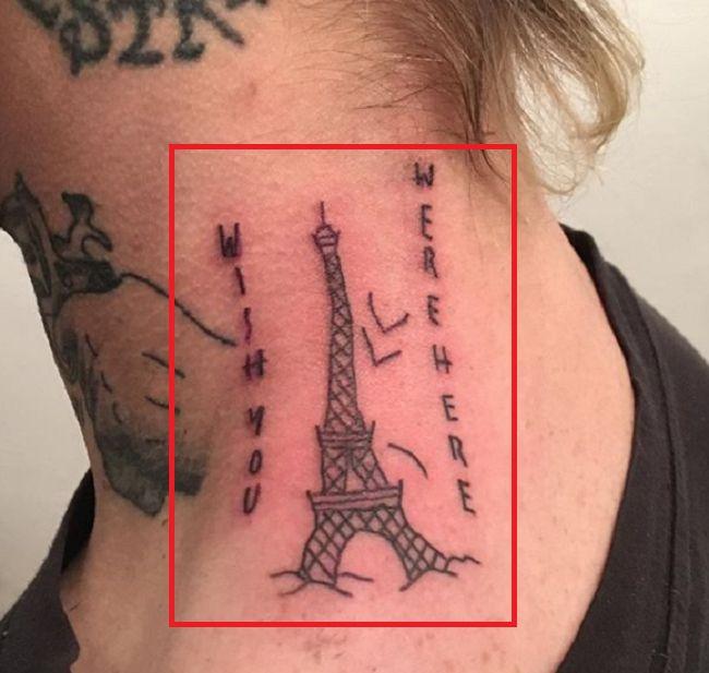 Bradley Soileau-WISH YOU WERE HERE-Tattoo
