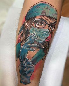Corona Virus Tattoo