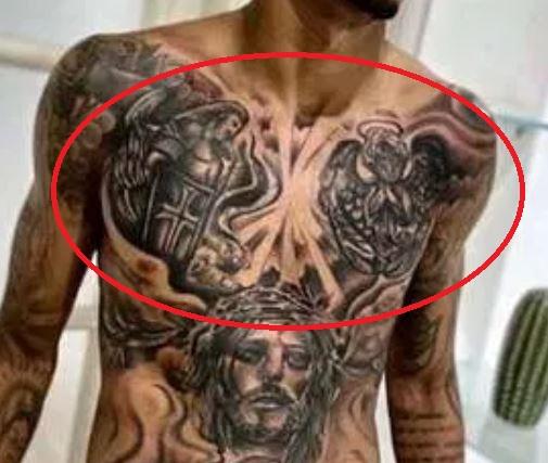 Eder Angels vs demon Tattoo