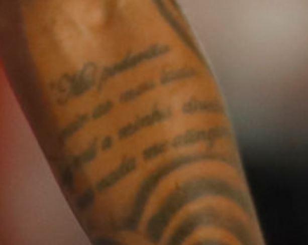 Eder quote tattoo