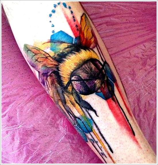 Honey Bee Tattoos 142
