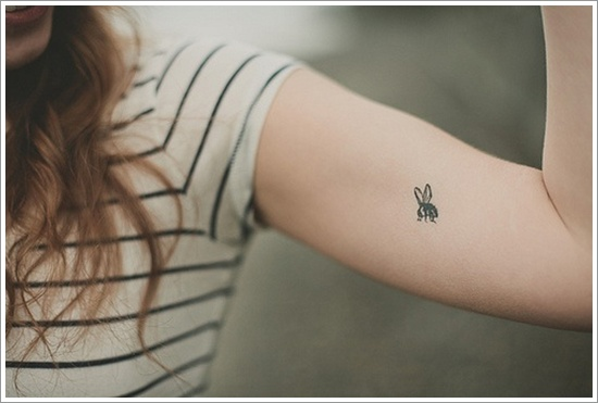 Honey Bee Tattoos 148
