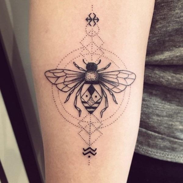 Honey Bee Tattoos