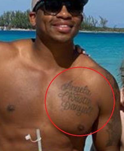 Jimmie Allen names tattoo