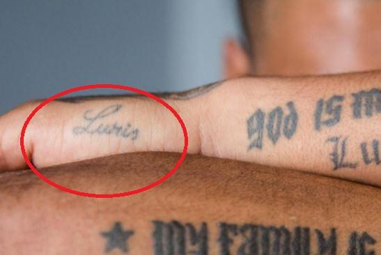 Josef Luris tattoo