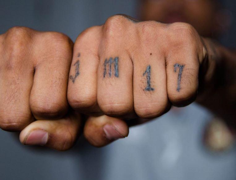 Josef hand tattoo