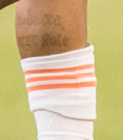 Josef leg tattoo