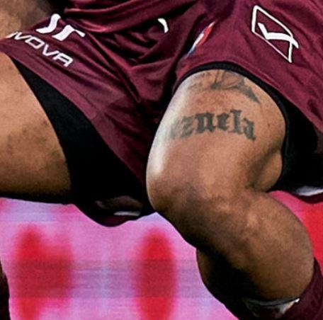 Josef name on thigh