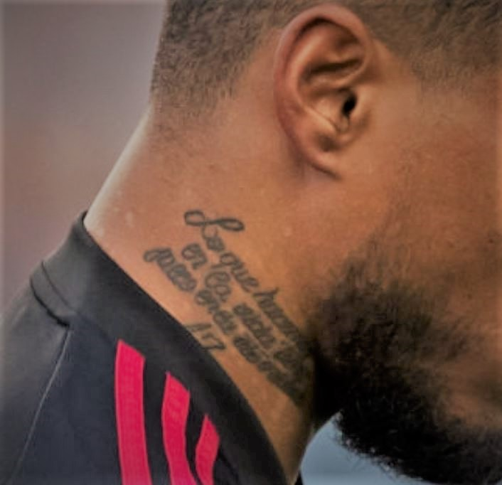 Josef quote on neck