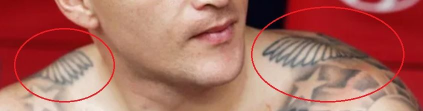 Kieran Trippier birds tattoo