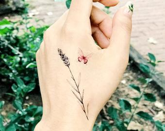 Lavender Tattoo Designs