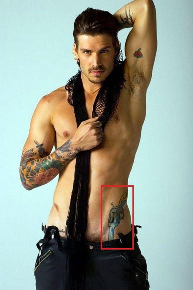 Mateus Verdelho-Gun-Tattoo