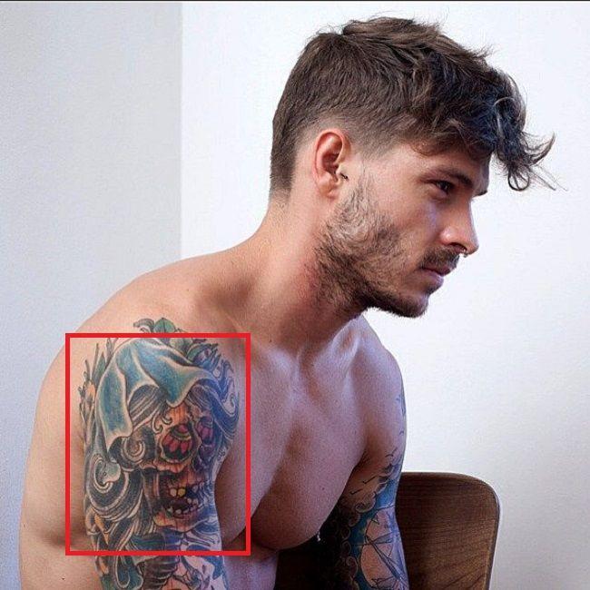 Mateus Verdelho-Skull-Tattoo