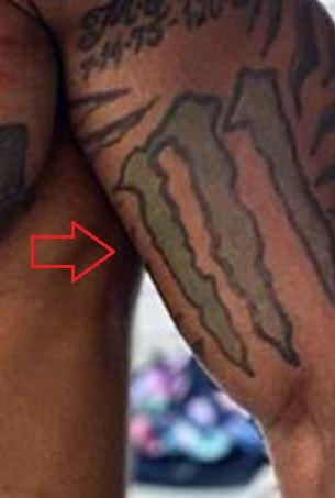 Mike Holston M tattoo