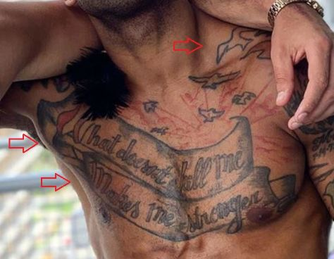 Mike Holston banner birds tattoo