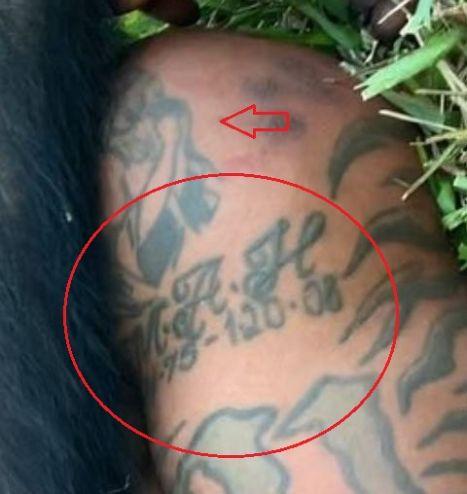 Mike Holston date tattoo