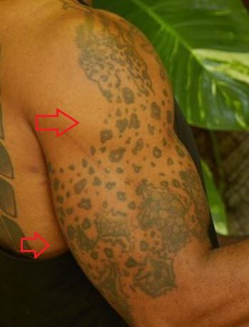 Mike Holston pattern tattoo