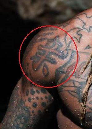 Mike Holston symbol tattoo