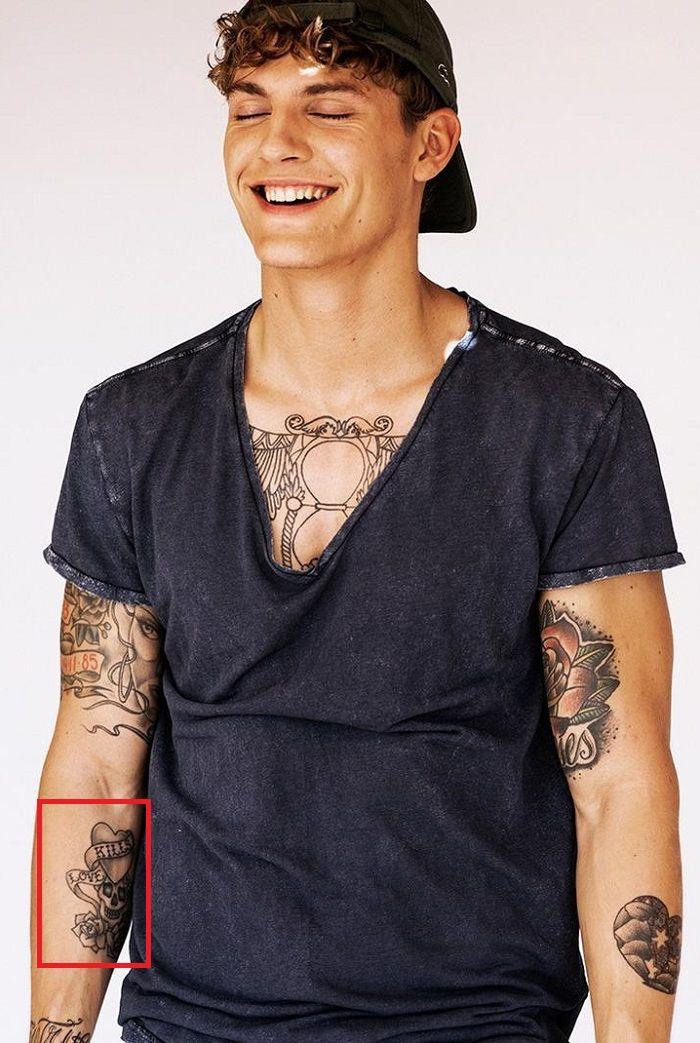 Mikkel Gregers Jensen-Arm-Tattoos