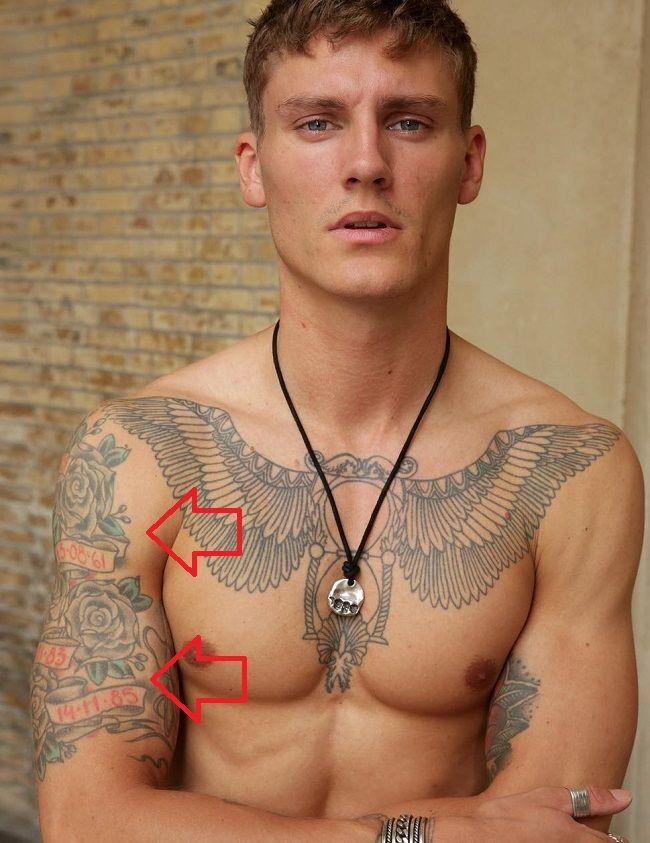 Mikkel Gregers Jensen-Tatt--Arm-Arm