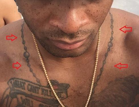 PJ Tucker chain tattoo
